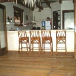 surfing vacation rental, ocean view kitchen